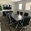 Eight Point Trestle Conference Table